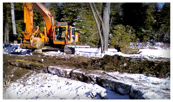 Excavator, Excavating Services