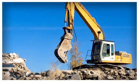 Demolition, Excavator Services