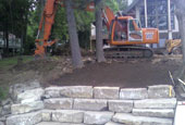 Landscaping, Retaining Walls